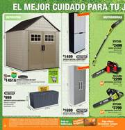 Ofertas de Gato hidráulico  en el folleto de The Home Depot