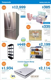 Ofertas de Cama  en el folleto de Sam's Club