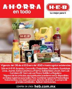 Catálogo HEB en Monterrey ( 4 días más )