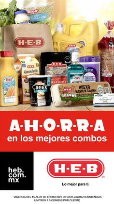 Ofertas de Hiper-Supermercados en el catálogo de HEB en Santa Catarina (Nuevo León) ( Publicado hoy )