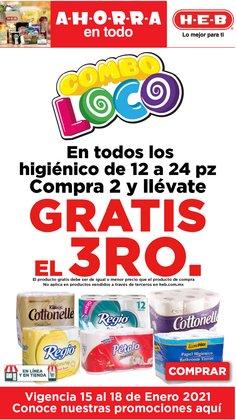 Ofertas de Hiper-Supermercados en el catálogo de HEB en Santa Catarina (Nuevo León) ( 3 días más )