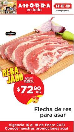Ofertas de Hiper-Supermercados en el catálogo de HEB en García ( Vence mañana )