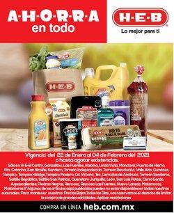 Ofertas de Hiper-Supermercados en el catálogo de HEB en Aguascalientes ( 3 días publicado )
