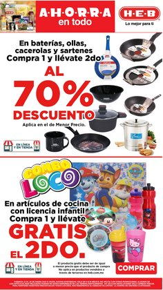 Ofertas de Hiper-Supermercados en el catálogo de HEB en Aguascalientes ( Caduca hoy )