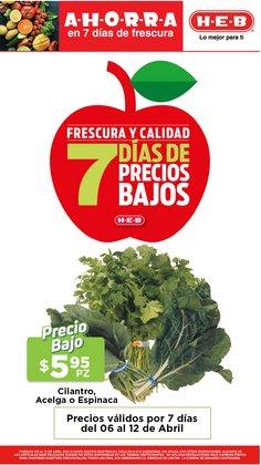 Ofertas de Hiper-Supermercados en el catálogo de HEB en Santiago de Querétaro ( 2 días más )