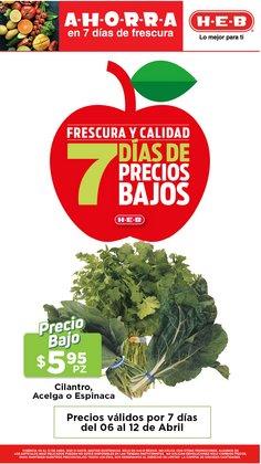 Catálogo HEB en San Luis Potosí ( 2 días más )