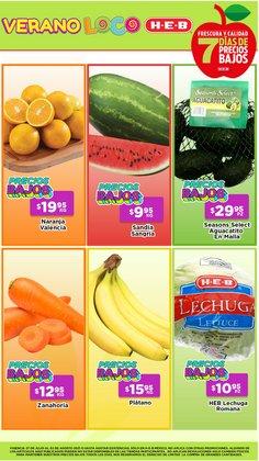 Ofertas de Hiper-Supermercados en el catálogo de HEB ( 2 días más)