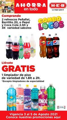 Ofertas de Hiper-Supermercados en el catálogo de HEB ( Publicado hoy)