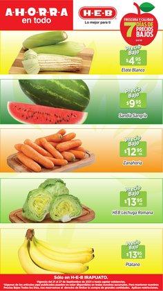Ofertas de Hiper-Supermercados en el catálogo de HEB ( Publicado ayer)