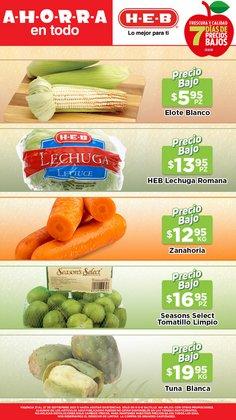 Ofertas de Hiper-Supermercados en el catálogo de HEB ( Vence mañana)