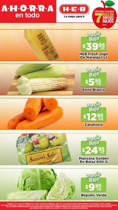 Ofertas de Hiper-Supermercados en el catálogo de HEB ( 4 días más)