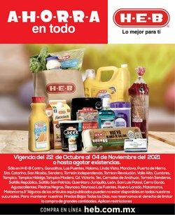 Ofertas de Tiendas Departamentales en el catálogo de HEB ( 8 días más)