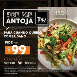 Ofertas de Restaurantes en el catálogo de Toks Restaurante en Córdoba (Veracruz) ( 4 días más )