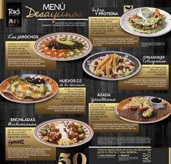 Ofertas de Toks Restaurante en el catálogo de Toks Restaurante ( 3 días más)