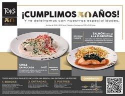 Ofertas de Restaurantes en el catálogo de Toks Restaurante ( 27 días más)