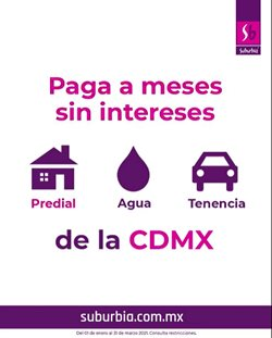 Catálogo Suburbia en Monterrey ( 29 días más )