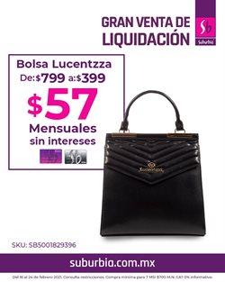 Catálogo Suburbia en Monterrey ( Caducado )