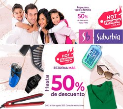 Ofertas de Tiendas Departamentales en el catálogo de Suburbia ( 3 días más)