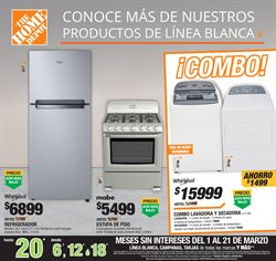 Ofertas de The Home Depot  en el folleto de Monterrey