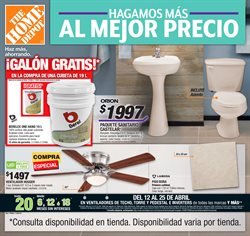 Ofertas de The Home Depot  en el folleto de Azcapotzalco