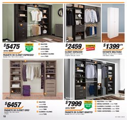 Ofertas de Closets  en el folleto de The Home Depot en Chihuahua