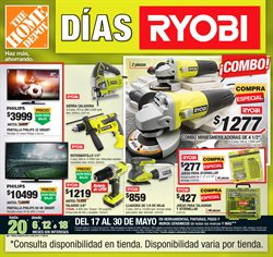 Ofertas de The Home Depot  en el folleto de Puebla
