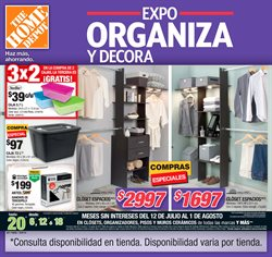 Ofertas de Recámaras  en el folleto de The Home Depot en Guaymas