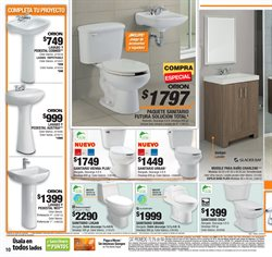 Ofertas de Baños  en el folleto de The Home Depot en Morelia