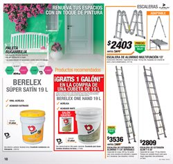 Ofertas de Pintura  en el folleto de The Home Depot en Valle de Santiago
