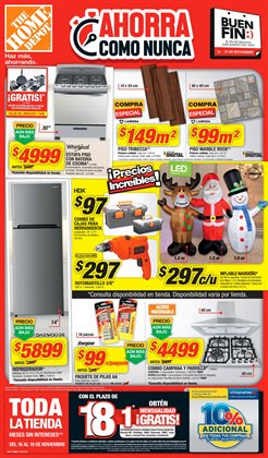 Ofertas de The Home Depot  en el folleto de Coyoacán