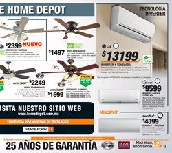 Ofertas de LG  en el folleto de The Home Depot en Cuernavaca