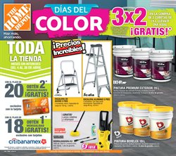 Ofertas de The Home Depot  en el folleto de Cuernavaca