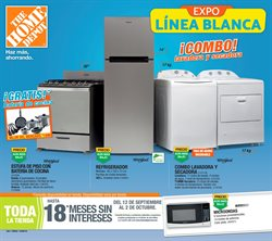 Ofertas de The Home Depot  en el folleto de Los Mochis
