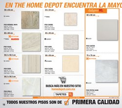 Ofertas de The Home Depot  en el folleto de Benito Juárez (CDMX)