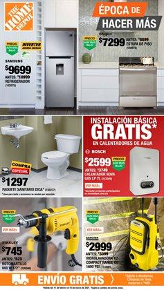 Catálogo The Home Depot ( 2 días más )