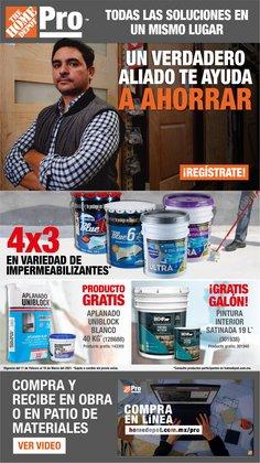 Catálogo The Home Depot en Heróica Puebla de Zaragoza ( 13 días más )