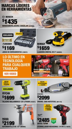 Ofertas de Lijadora en The Home Depot