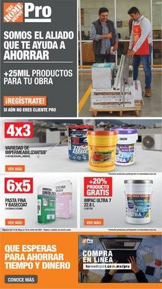Ofertas de Hogar y Muebles en el catálogo de The Home Depot ( 3 días más)