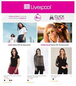 Ofertas de Tiendas Departamentales en el catálogo de Liverpool en Frontera (COAH) ( Vence mañana )