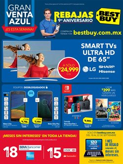 Ofertas de Best Buy  en el folleto de Monterrey