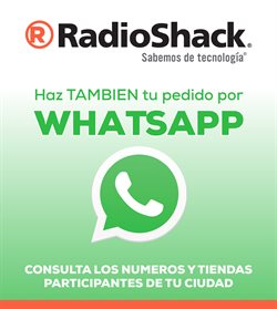 Catálogo RadioShack ( 5 días más )
