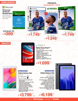Ofertas de Samsung en el catálogo de RadioShack ( 6 días más)