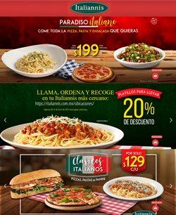 Ofertas de Restaurantes en el catálogo de Italianni's Pizza en Zapopan ( 6 días más )