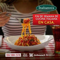 Ofertas de Italianni's Pizza en el catálogo de Italianni's Pizza ( Vencido)