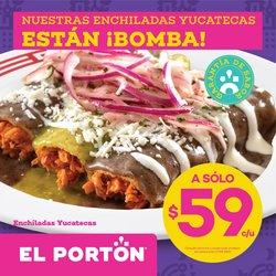 Ofertas de Restaurantes en el catálogo de El Portón ( 5 días más)