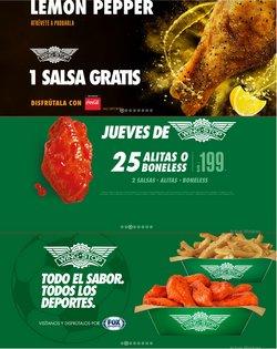Ofertas de Restaurantes en el catálogo de Wing Stop en Santiago de Querétaro ( 20 días más )