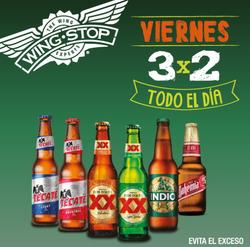 Ofertas de Wing Stop  en el folleto de Ciudad de México