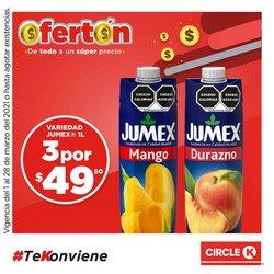 Ofertas de Hiper-Supermercados en el catálogo de Circle K en Benito Juárez (CDMX) ( Publicado hoy )