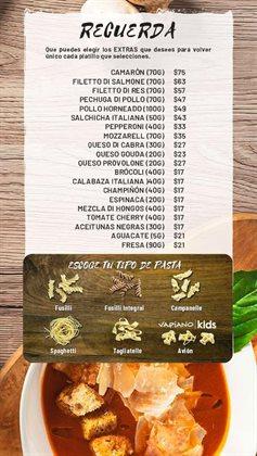 Ofertas de Camarones en Vapiano