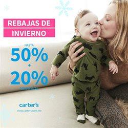 Ofertas de Juguetes y Niños en el catálogo de Carter's en Heróica Puebla de Zaragoza ( Caduca hoy )
